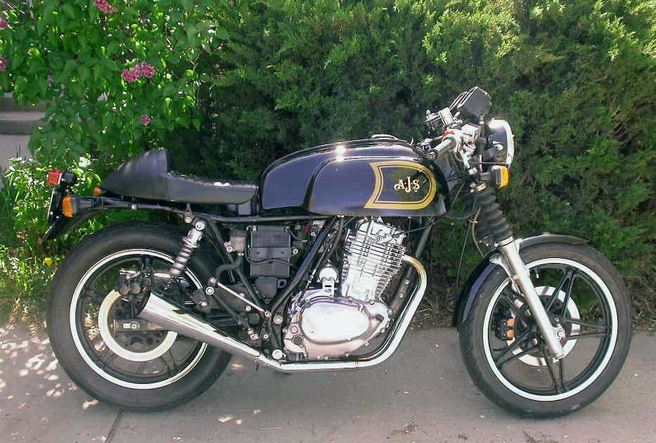 Ft Ascot Cafe Racer