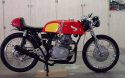 CB175 with modified Cotton Telstar Tank