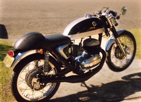 seatbase bultaco metralla