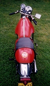 BSA Lightning Clubman A65LC Seatbase and Goldstar Race Tank